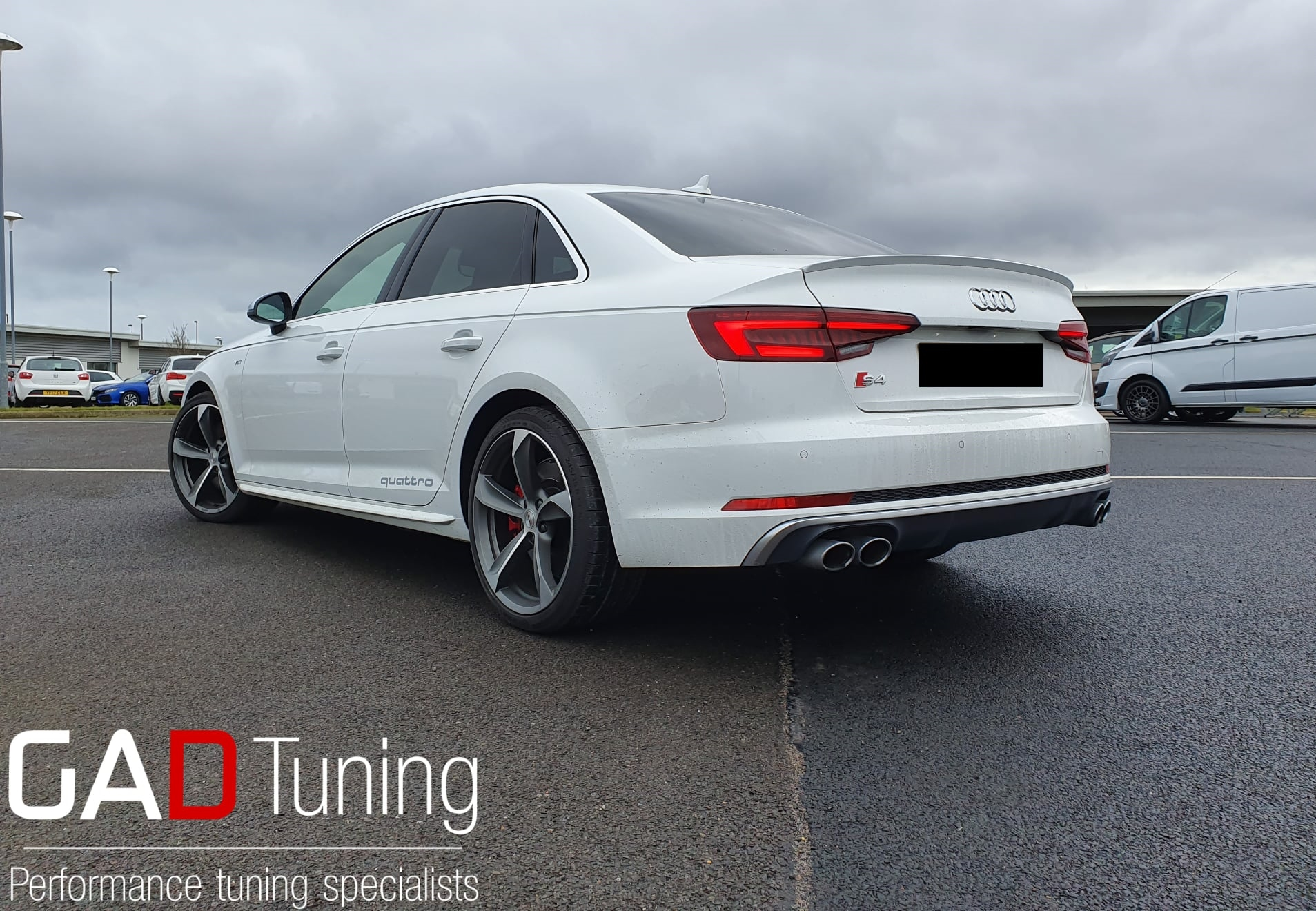 Audi S4 B9 for stage 1