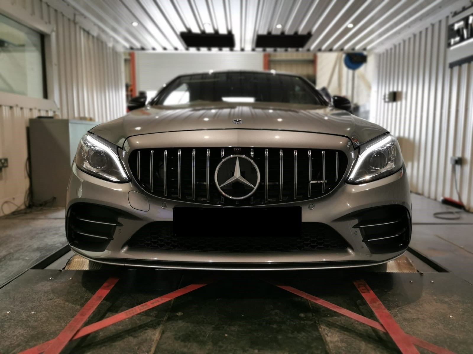 Mercedes C43 AMG for stage 1 & dyno
