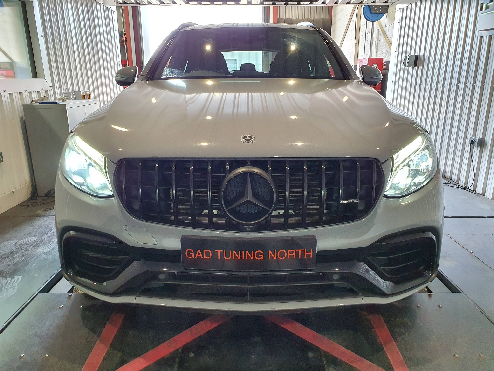 Mercedes GLC63s in for stage 2 package