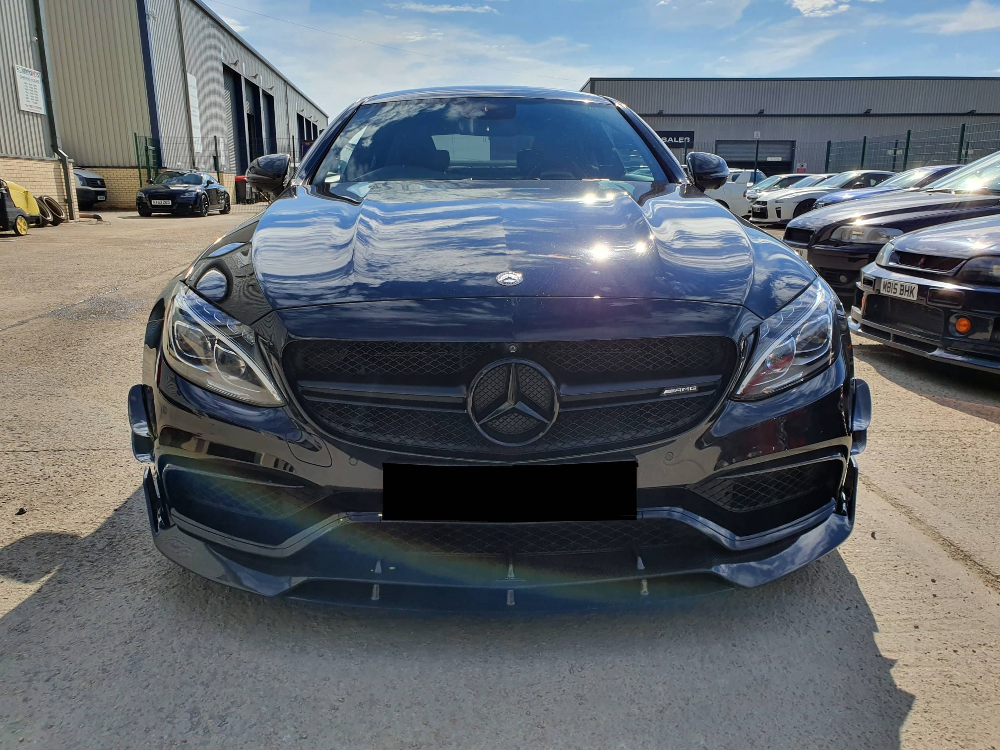Mercedes C63s AMG for stage 2 tune