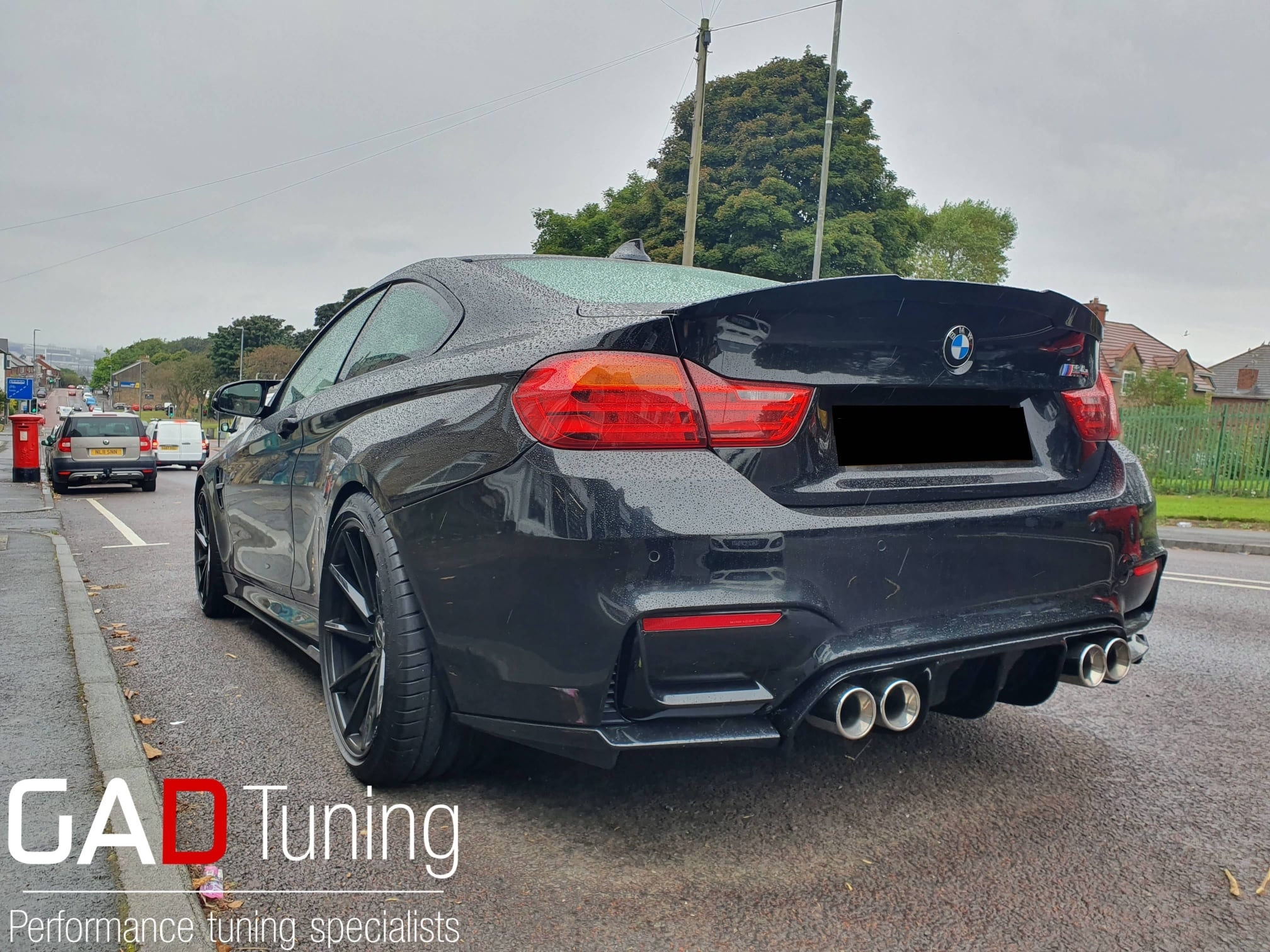 BMW M4 for stage 1 & specific over-run