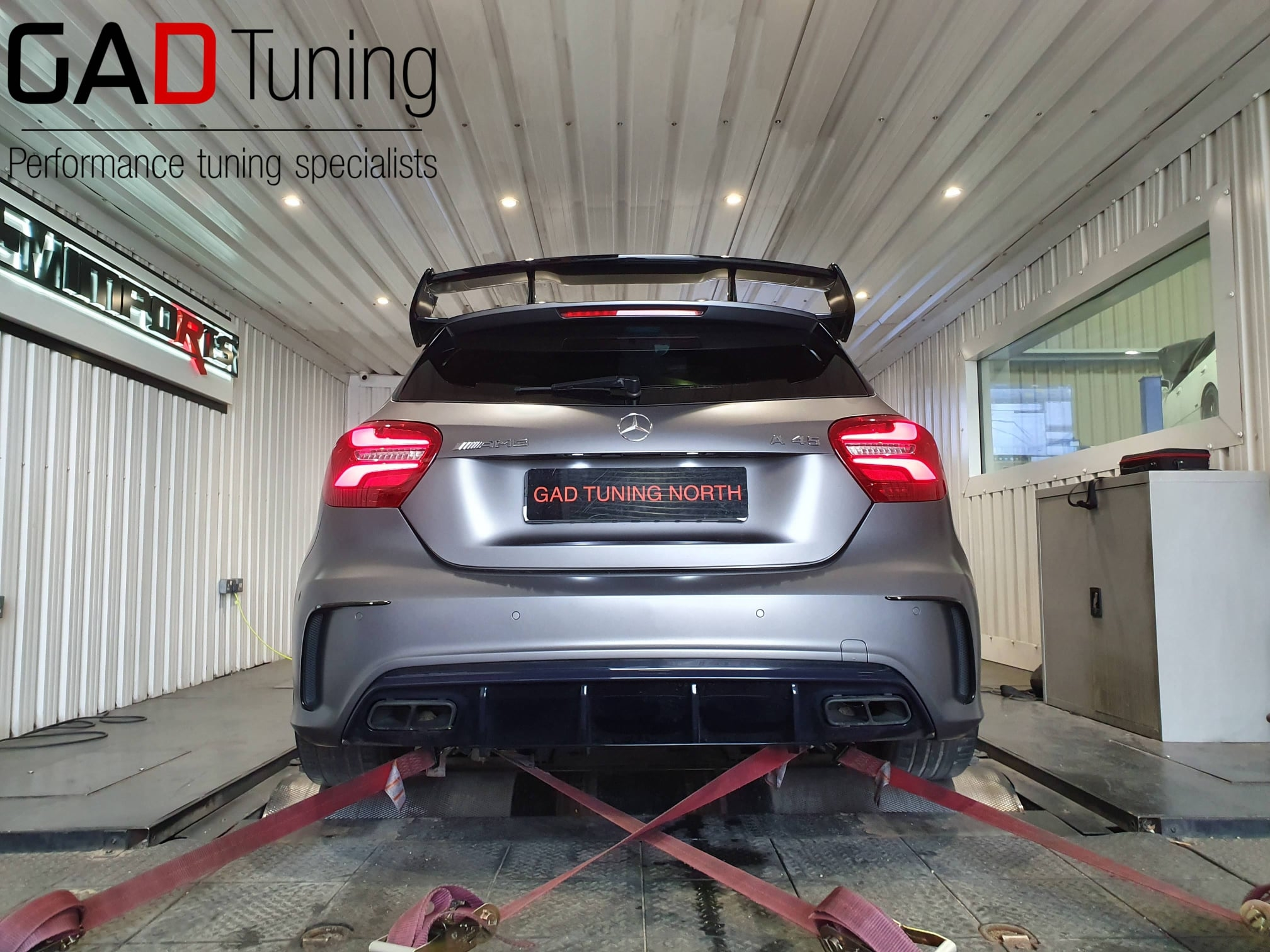 Mercedes A45 AMG for dyno & stage 1 tune