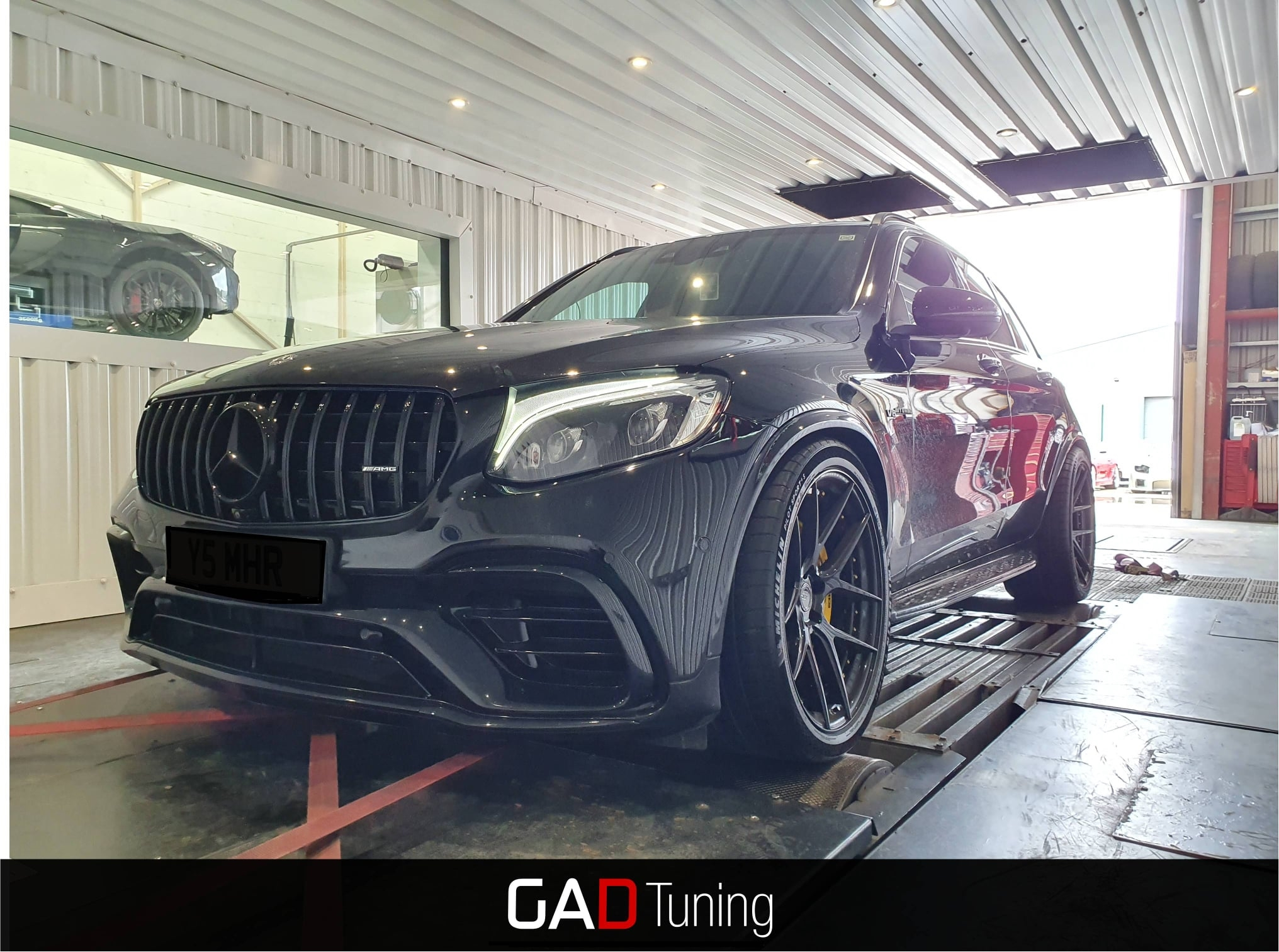 Mercedes GLC63s in for dyno & stage 1 tune