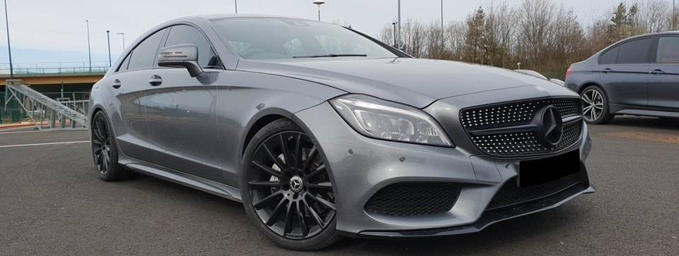 Mercedes CLS350 cdi for stage 1 tuning