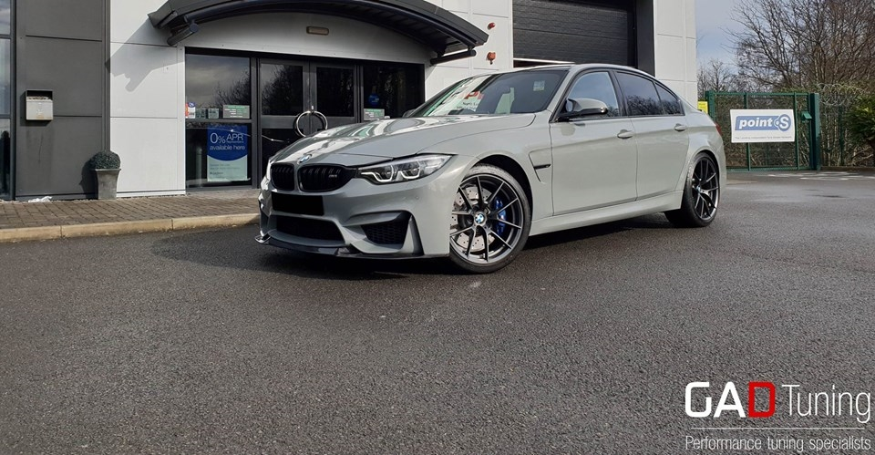 BMW M3 CS in for stage 2 tuning package