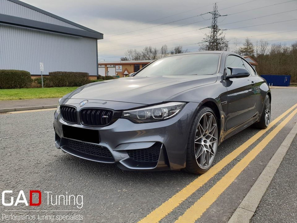 Brand new BMW M4 competition for stage 1