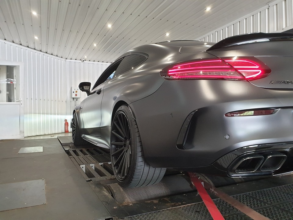 Agresssive 2019 C63s AMG for tuning & dyno