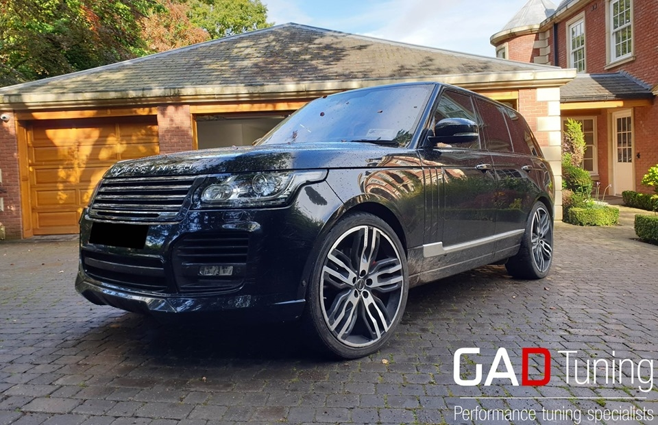 Range Rover overfinch 4.4TDV8 in for tuning