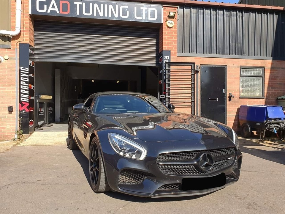 Mercedes GTS AMG for stage 1