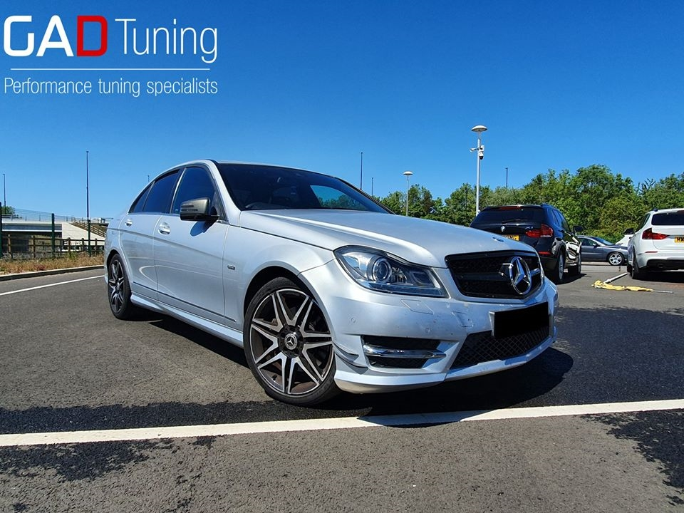 Merceces C350 in for stage 1 GAD software