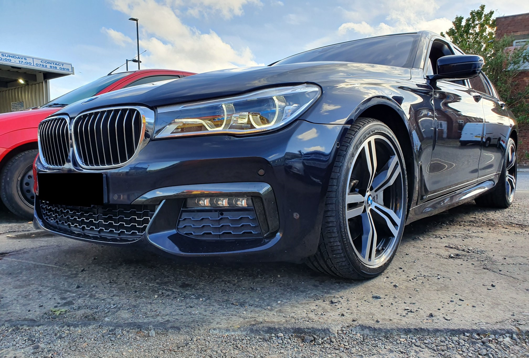 BMW 750i G series for tuning & coding