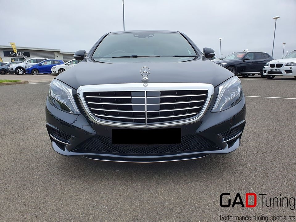 Mercedes S350 in for stage 1 tune