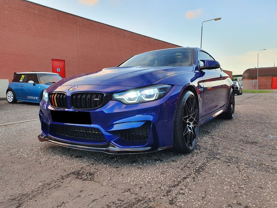 BMW M4 comp for stage 2