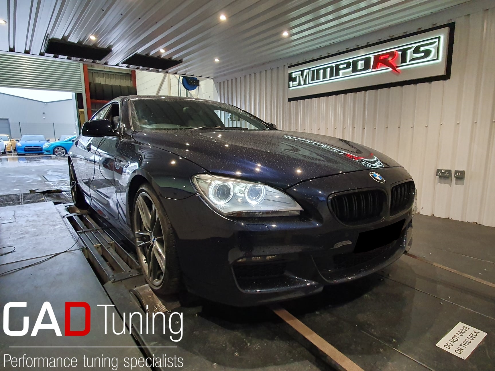 BMW 640d in for stage 1 tuning & dyno
